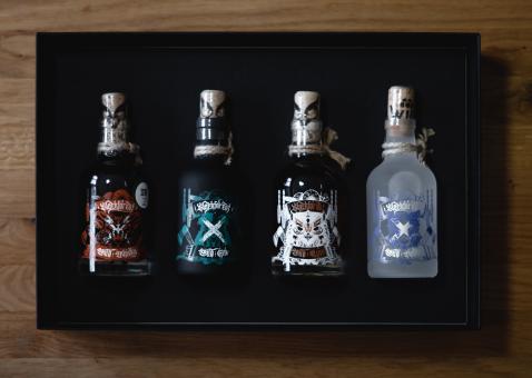 Wild Blackforest Spirits Geschenkbox, 4x 0,2l