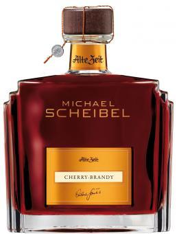Scheibel Alte Zeit Cherry-Brandy 35%vol. 0,7l + Gratis edlem Geschenkkarton